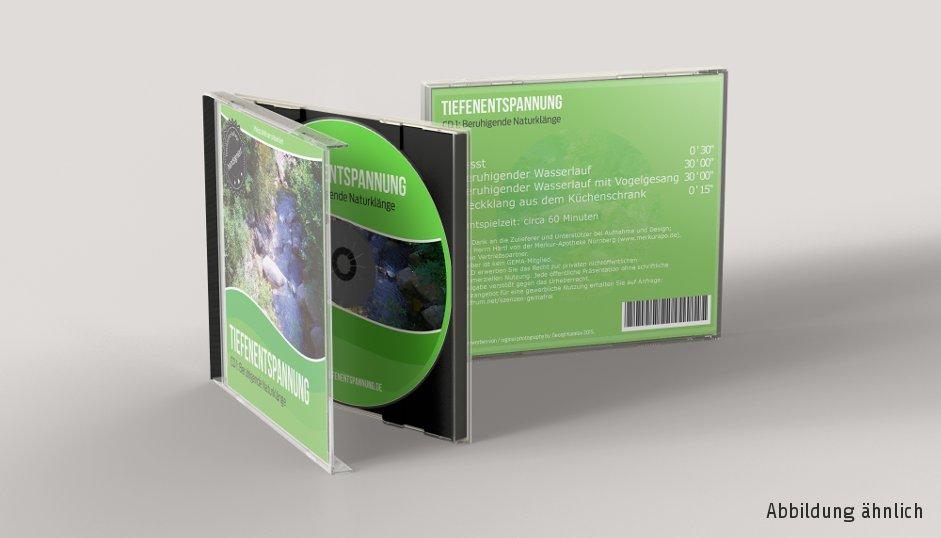 Audio-CD gemafrei Tiefenentspannung